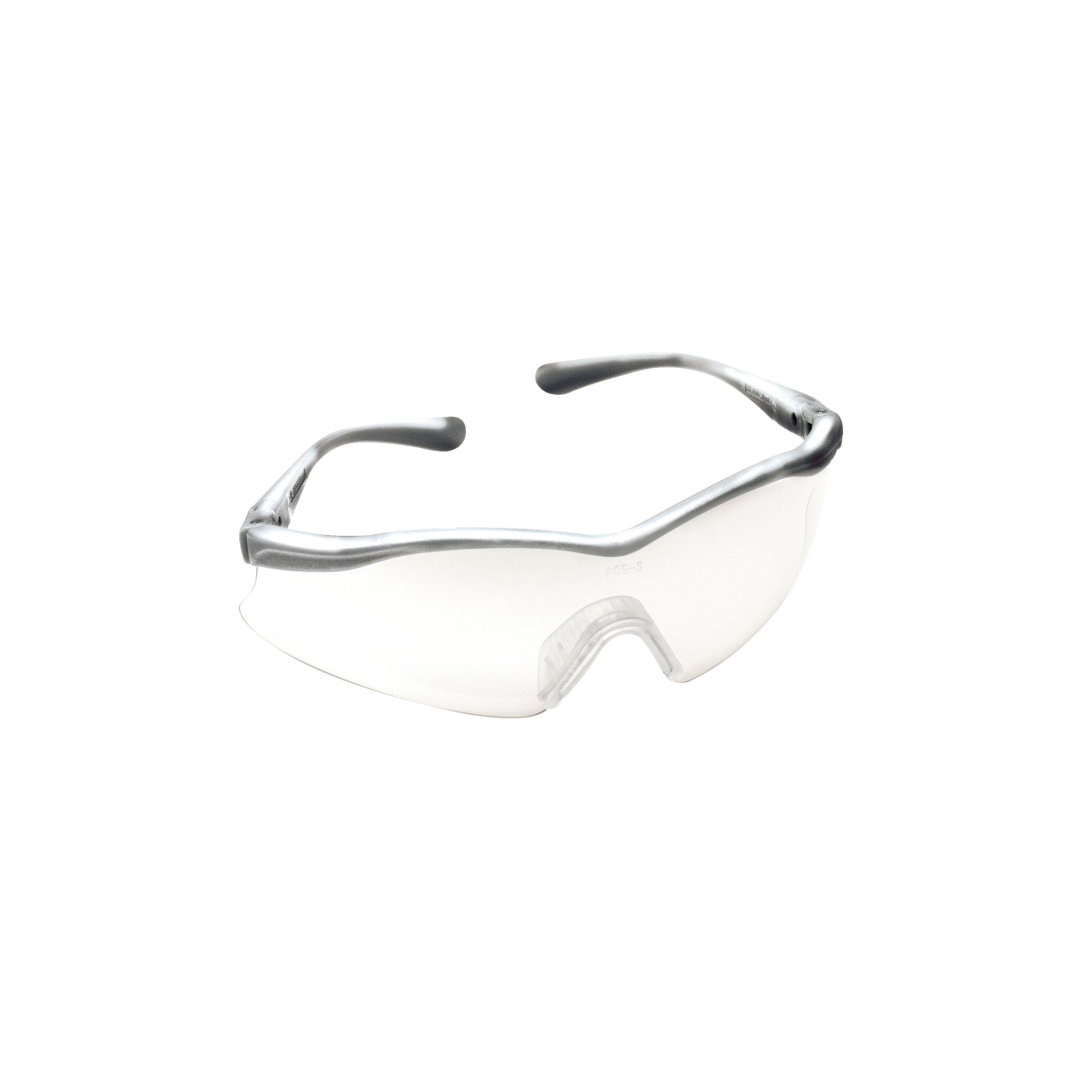 3M™ X.Sport™ 078371-62386 15182-00000-20 Lightweight Safety Glasses, Anti-Fog Clear Lens, Half Framed Silver Plastic Frame, Polycarbonate Lens, Specifications Met: ANSI Z87.1-2015, CSA Z94.3
