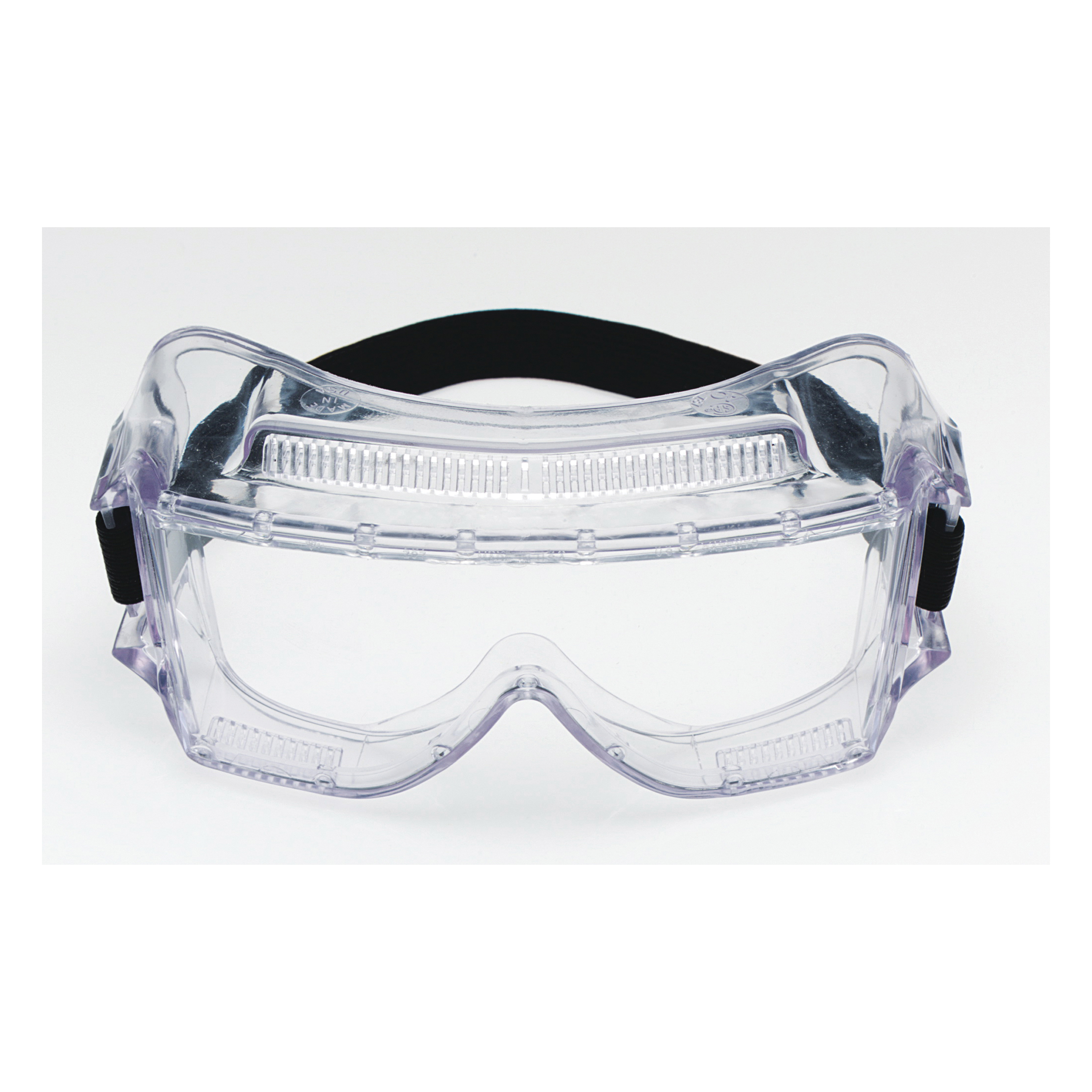 3M™ Centurion™ 078371-62388 Standard Value Safety Goggles, Anti-Fog/Impact-Resistant/UV-Protective Clear Polycarbonate Lens, 99.9 % UV Protection, Elastic Strap, ANSI Z87.1-2003, CSA Z94.3-2007