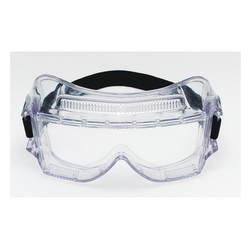 3M™ Centurion™ 078371-62388 Standard Value Safety Goggles, Anti-Fog/Impact Resistant/UV-Protective Clear Polycarbonate Lens, 99.9 % UV Protection, Elastic Strap, ANSI Z87.1-2003, CSA Z94.3-2007