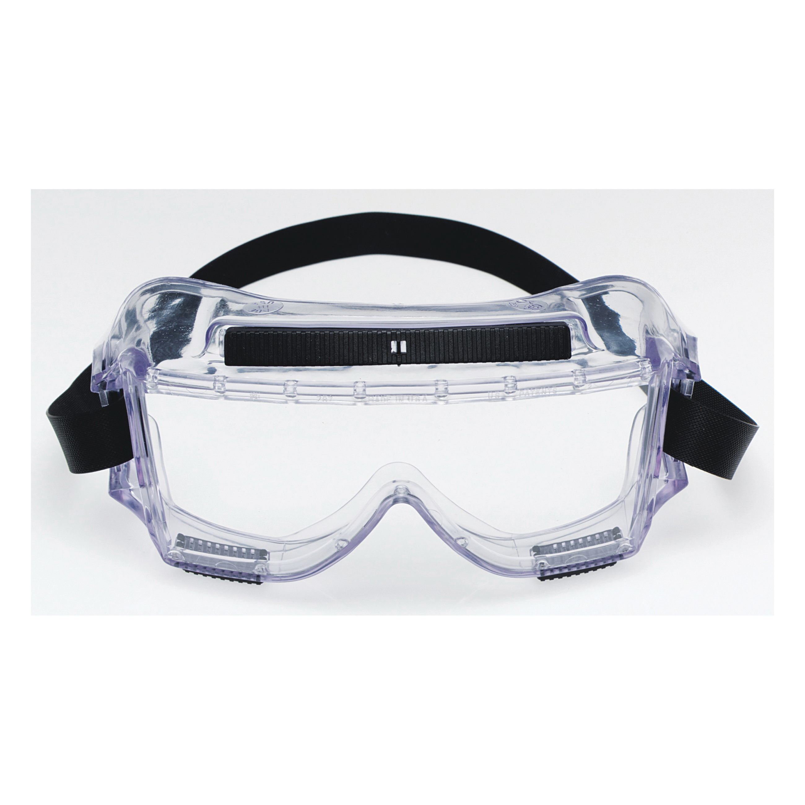3M™ Centurion™ 078371-62390 Standard Value Safety Goggles, Anti-Fog Clear Polycarbonate Lens, 99.9 % UV Protection, Neoprene Strap, CSA Z94.3-2007, ANSI Z87.1-2003