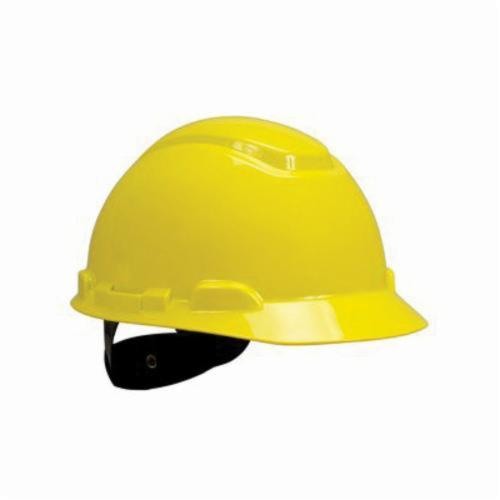 3M™ 078371-65554 Non-Vented Hard Hat With Uvicator™ Sensor, HDPE, 4-Point Suspension, ANSI Electrical Class Rating: Class C, E and G, ANSI Impact Rating: Type 1, Ratchet Adjustment