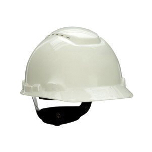3M™ 078371-65555 Vented Hard Hat With Uvicator™ Sensor, HDPE, 4-Point Suspension, ANSI Electrical Class Rating: Class C, ANSI Impact Rating: Type I, Ratchet Adjustment