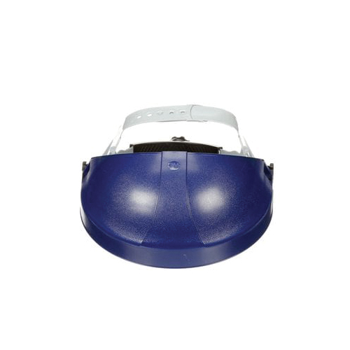 3M™ 078371-82501 Faceshield Headgear, Blue, Thermoplastic, For Use With 3M Faceshield, Ratchet Adjustment