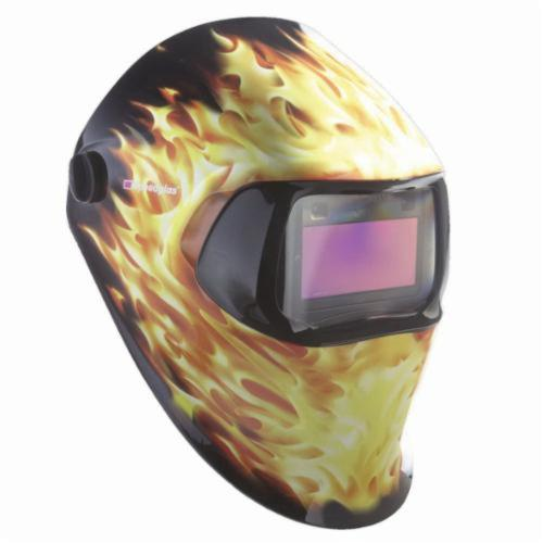 Speedglas™ 051131-37233 100 Welding Helmet, 8 to 12 Lens Shade, Graphics: Blazed, 1.73 x 3.66 in Viewing Area, Specifications Met: ANSI Z87.1-2010