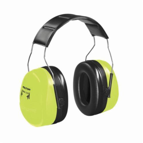 3M™ Peltor™ 093045-08062 Optime™ Earmuffs, 21 dB Noise Reduction, Black/Beige, Over The Head Band Position, ANSI S3.19-1974, CSA Class B