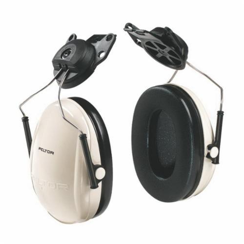 3M™ Peltor™ 093045-08065 Optime™ 95 Ultralight Hard Hat Earmuffs, 21 dB Noise Reduction, Black/Beige, CSA Class B, OSHA 29 CFR 1910.132