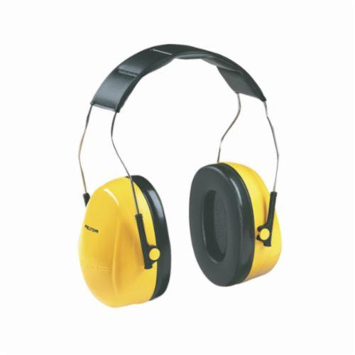 3M™ Peltor™ 093045-08091 Optime™ Lightweight Earmuffs, 25 dB Noise Reduction, Black/Yellow, Over The Head Band Position, ANSI S3.19-1974, CSA Class AL