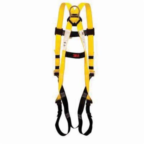 3M™ SafeLight™ 078371-00079 SafeLight Fall Protection Harness, Universal, 310 lb Load, Polyester Strap, Steel Hardware
