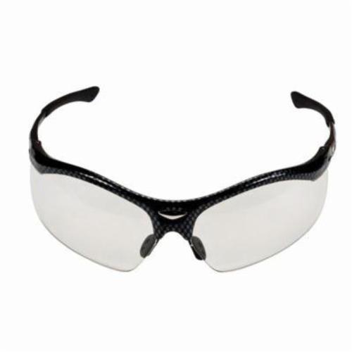 3M™ Smart Lens™ 078371-62033 Premium Protective Eyewear, Anti-Fog Photochromic Lens, Half Frame Black Nylon Frame, Polycarbonate Lens, Specifications Met: ANSI Z87.1-2015