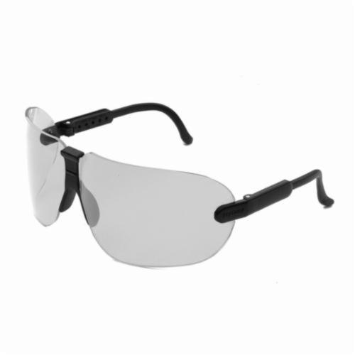 3M™ Fectoids™ 078371-62316 Lightweight Protective Eyewear, Anti-Fog/Hard Coat Clear Lens, Wraparound Black Polycarbonate Frame, Polycarbonate Lens, Specifications Met: ANSI Z87.1-2003, CSA Z94.3-2007