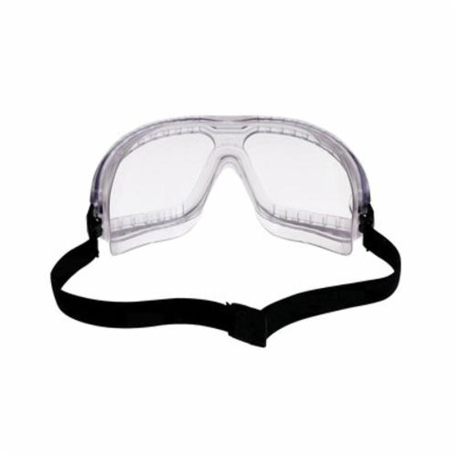 3M™ Aearo Lexa™ Splash GoggleGear™ 078371-62337 Lightweight Safety Goggles, Anti-Fog/Anti-Scratch Clear Polycarbonate Lens, 99.9 % UV Protection, Elastic Strap, ANSI Z87.1-2003, CSA Z94.3-2007