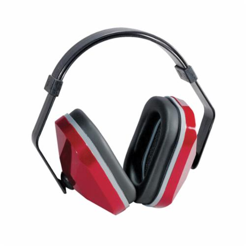 E-A-R™ 080529-30000 Lightweight Earmuffs, 20 dB Noise Reduction, Black/Maroon, Multi-Position Band Position, ANSI S3.19-1974