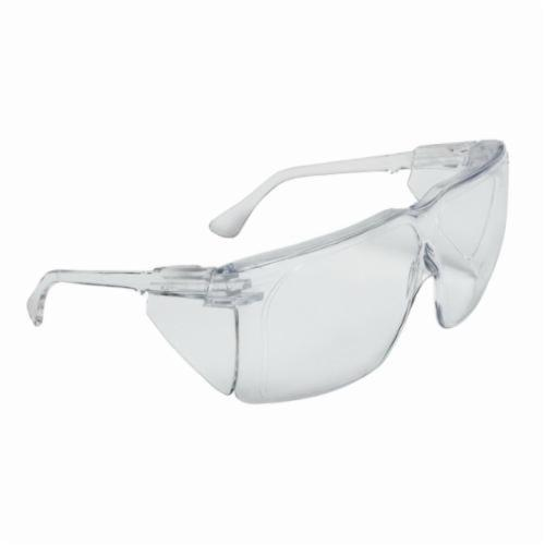 3M™ Tour-Guard™ III 078371-62342 41110-00000-100 Economy Protective Eyewear, Uncoated Clear Lens, Frameless/Wraparound Clear Polycarbonate Frame, Polycarbonate Lens, Specifications Met: ANSI Z87.1-2015, CSA Z94.3