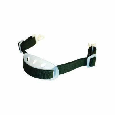 3M™ 078371-46551 X24 Elastic Chin Strap, Nylon, Green, For Use With Hard Hat