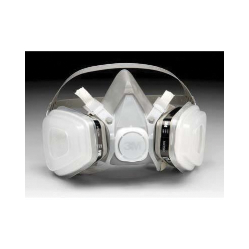 3M™ 051138-66069 5000 Half Facepiece Disposable Respirator Assembly, M, Resists: Organic Vapors