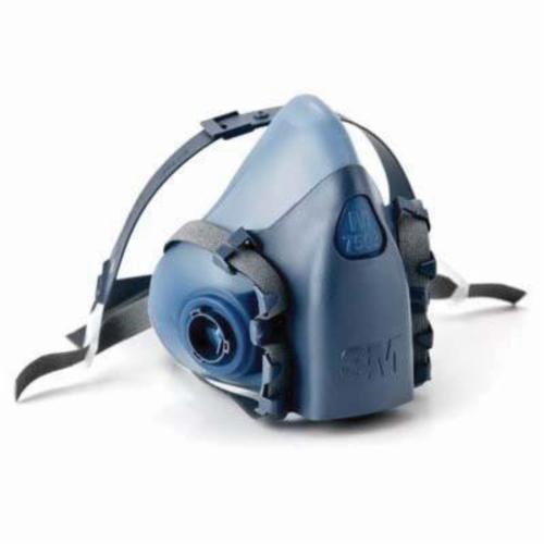 3M™ 051131-37082 7500 Half Face Mask, M, Bayonet Connection