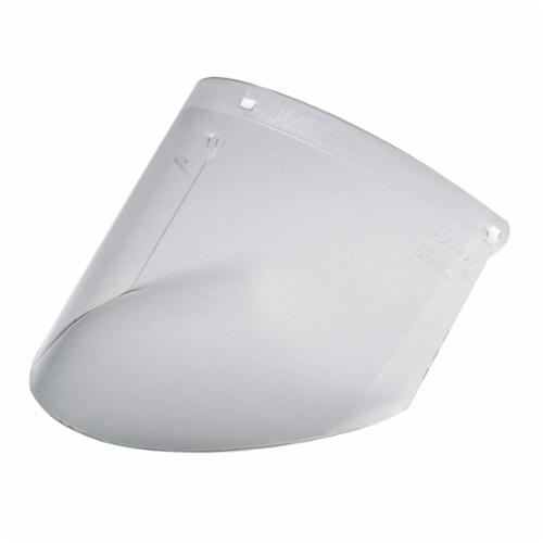 3M™ 078371-82700 Durable Faceshield Visor, Clear, Propionate, 9 in H x 14-1/2 in W x 0.08 in THK Visor, For Use With AOTuffmaster® Headgears, Specifications Met: ANSI Z87.1-2003