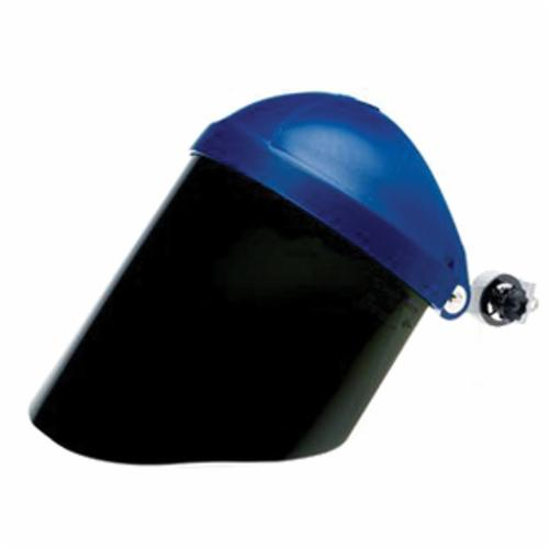 3M™ 078371-82706 General Purpose Faceshield Window, Shaded Dark Green, Polycarbonate, 9 in H x 14-1/2 in W x 0.8 in THK Visor, For Use With Headgear or 3M Cap Style Mount Headgear, 5.0 Lens Shade