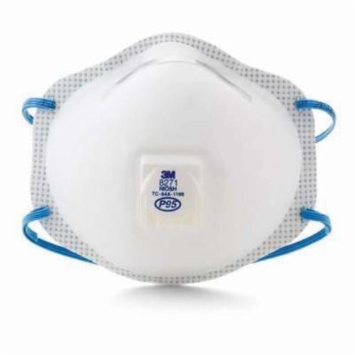 3M™ 051138-54285 Standard Particulate Respirator, Resists: Oil and Non-Oil Based Particles