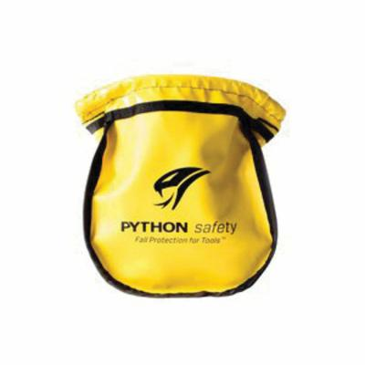 3M™ DBI-SALA® Fall Protection 1500122 Python Safety® Small Parts Pouch, Vinyl, Yellow, For Use With Belt or Harness Attachment