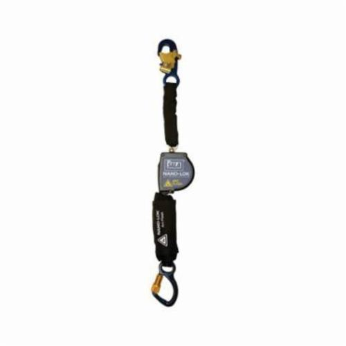 3M DBI-SALA Fall Protection Nano-Lok™ 3101575 Arc Flash Self-Retracting Lifeline With Self-Locking Carabiner, 420 lb Load Capacity, 8 ft L, Specifications Met: ANSI A10.32, ANSI Z359.1, ANSI Z359.14, OSHA 1910.66, OSHA 1926.502