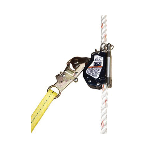 3M DBI-SALA Fall Protection 094718-16732 Lad-Saf™ Mobile Rope Grab, 310 lb Weight Capacity, 5/8 in Dia Rope, Synthetic/Vinyl