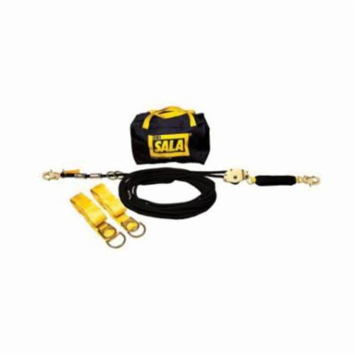 3M DBI-SALA Fall Protection Sayfline™ 7600510 Horizontal Lifeline System, 310 lb Load Capacity, 100 ft L, Specifications Met: OSHA 1910.66, OSHA 1926.502