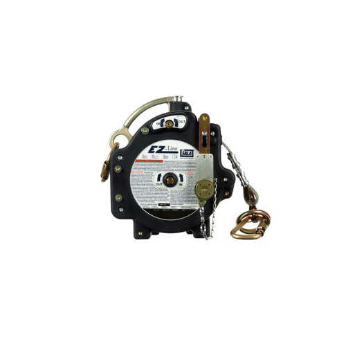 3M DBI-SALA Fall Protection 7605060 EZ-Line™ Horizontal Retractable Lifeline System, 310 lb Load Capacity, 60 ft L, Specifications Met: ANSI Specified, OSHA 1926.502