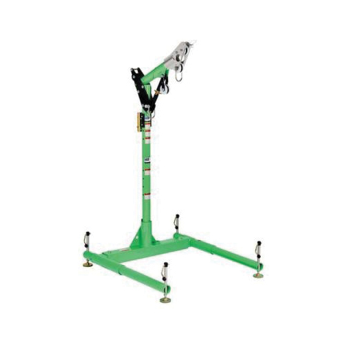 3M DBI-SALA Fall Protection 8518000 Advanced™ 5-Piece Portable Davit Hoist System, 33 to 43 in H, 450 lb Load