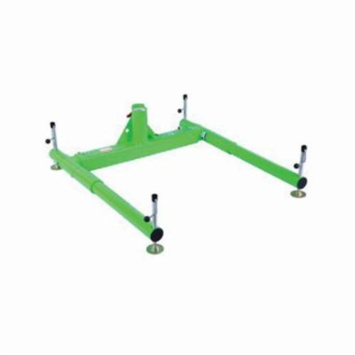 3M DBI-SALA Fall Protection 8518005 Advanced™ 3-Piece Portable Davit Base, 450 lb Load, For Use With 27-1/2 in Maximum Offset Davit Mast