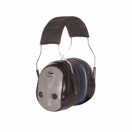 3M™ Peltor™ 093045-98169 Earmuffs, 26 dB Noise Reduction, Black/Gray, Over The Head Band Position, ANSI S3.19-1974