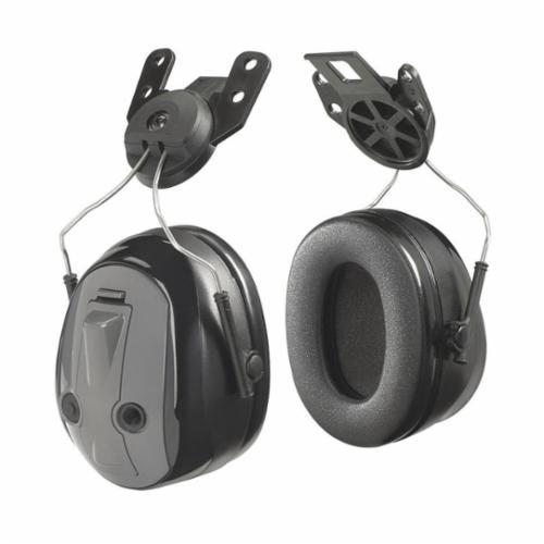 3M™ Peltor™ 093045-98170 Hard Hat Earmuffs, 25 dB Noise Reduction, Black, UL Listed
