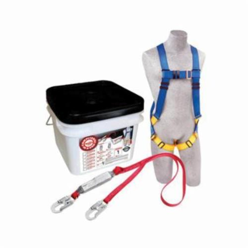 3M Protecta Fall Protection 2199802 Compliance in a Can™ Light All Purpose Fall Protection Kit, Specifications Met: OSHA 1910.66, OSHA 1926.502