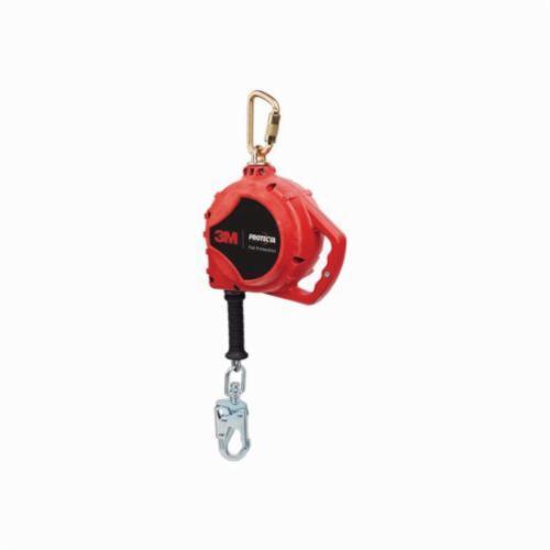 3M™ Protecta® Fall Protection 840779-07173 Rebel™ Self-Retracting Lifeline With Self-Locking Snap Hook, 420 lb Load, 33 ft L, ANSI A10.32, ANSI Z359.1, ANSI Z359.14, OSHA 1910.66, OSHA 1926.502