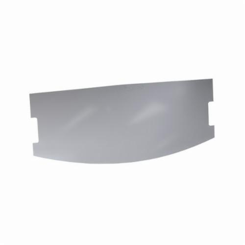 3M™ 051138-21584 Outer Faceshield, For Use With Whitecap™ W-8100B Helmets, Clear, Specifications Met: OSHA Approved
