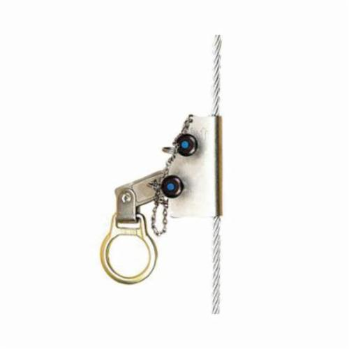 3M DBI-SALA Fall Protection 5000338 Lad-Saf™ Temporary, 310 lb Weight Capacity, 3/8 in Rope, 4 ft L