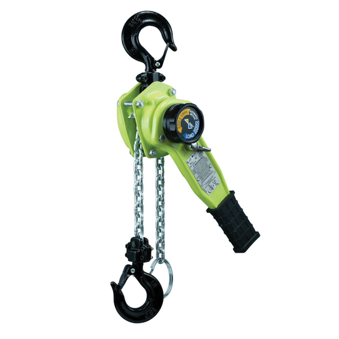 AMH™ LA008-05U 1-Part Lever Chain Hoist With Sling Hook, 1760 lb Load, 5 ft H Lifting, 47 lb Rated, 1.02 in Hook Opening