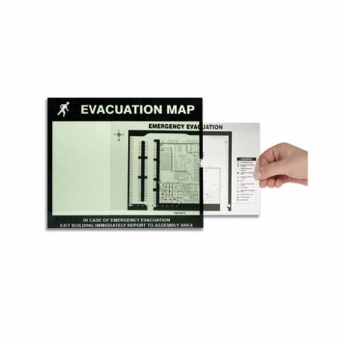 Accuform® DTA204 Lumi-Glow™ Evacuation Map Holder