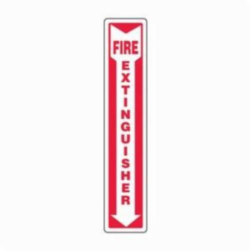Accuform® MFXG918VP Fire Sign, 24 in H x 4 in W, 0.055 in Plastic