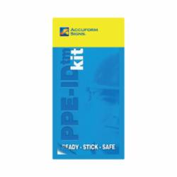 Accuform® PPE468 PPE-ID™ Safety Poster, Text, Adhesive Vinyl, 2 in H x 2 in W, English