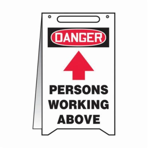 Accuform® MF103 Fold-Ups® Floor Safety Sign, DANGER, 20 in H x 12 in W, Plastic