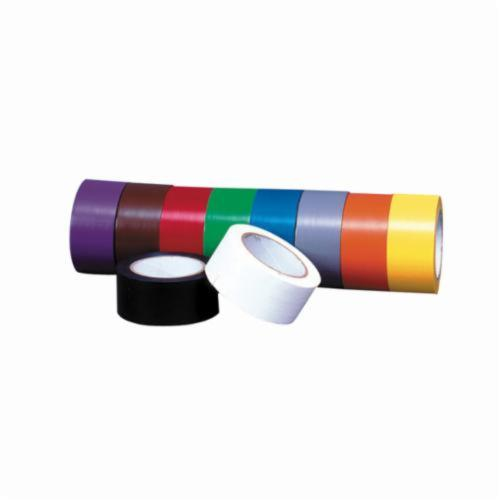 Accuform® PTM613BK Self-Adhesive Pipe Marking Tape, Black, 108 ft L x 1 in W x 6 mil THK, Vinyl