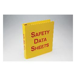 Accuform® ZRS643 3-Ring SDS Binder, SAFETY DATA SHEETS Legend, English, 3 in Ring