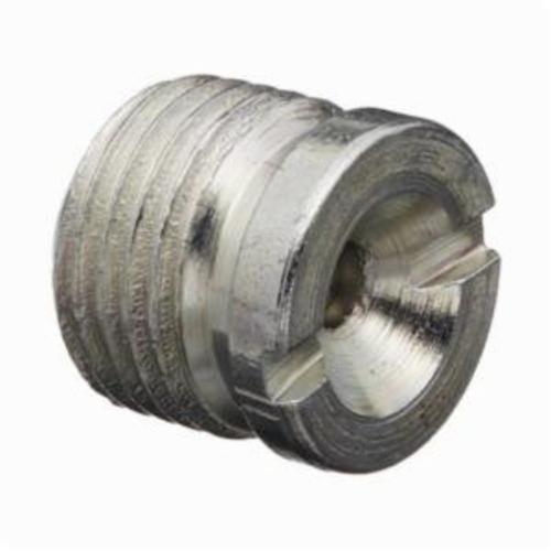 Alemite® 1815 Flush Style Slotted Grease Fitting, 1/8 in Female NPTF Thread, 23/64 in OAL, 19/64 in L Shank, Steel, Zinc Plated