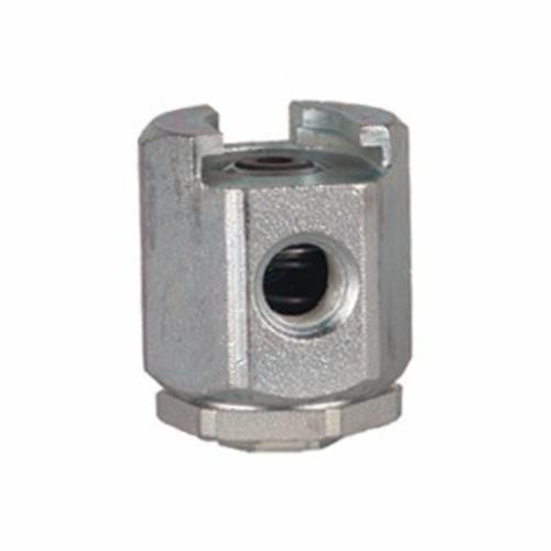Alemite® 304300 Giant Pull-On Button Head Coupler, 7/16-27 NS-2 Female Thread