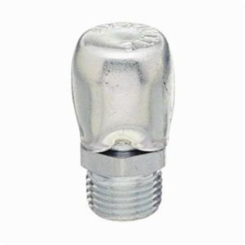 Alemite® 304810 Air Vent Fitting, 1/8 in PTF SAE Short Thread, 1 in OAL, Carbon Steel, Trivalent Zinc Plated