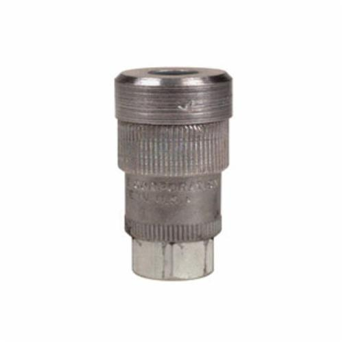 Alemite® 307112 Standard Duty Air Coupler, For Use With Filters, Lubricators, Regulators, 1/4 in MNPT
