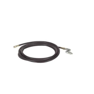 Alemite® 317875-25 High Pressure Grease Hose, 1/4 in ID, 25 ft L, 1/2-27 Female NS Taper