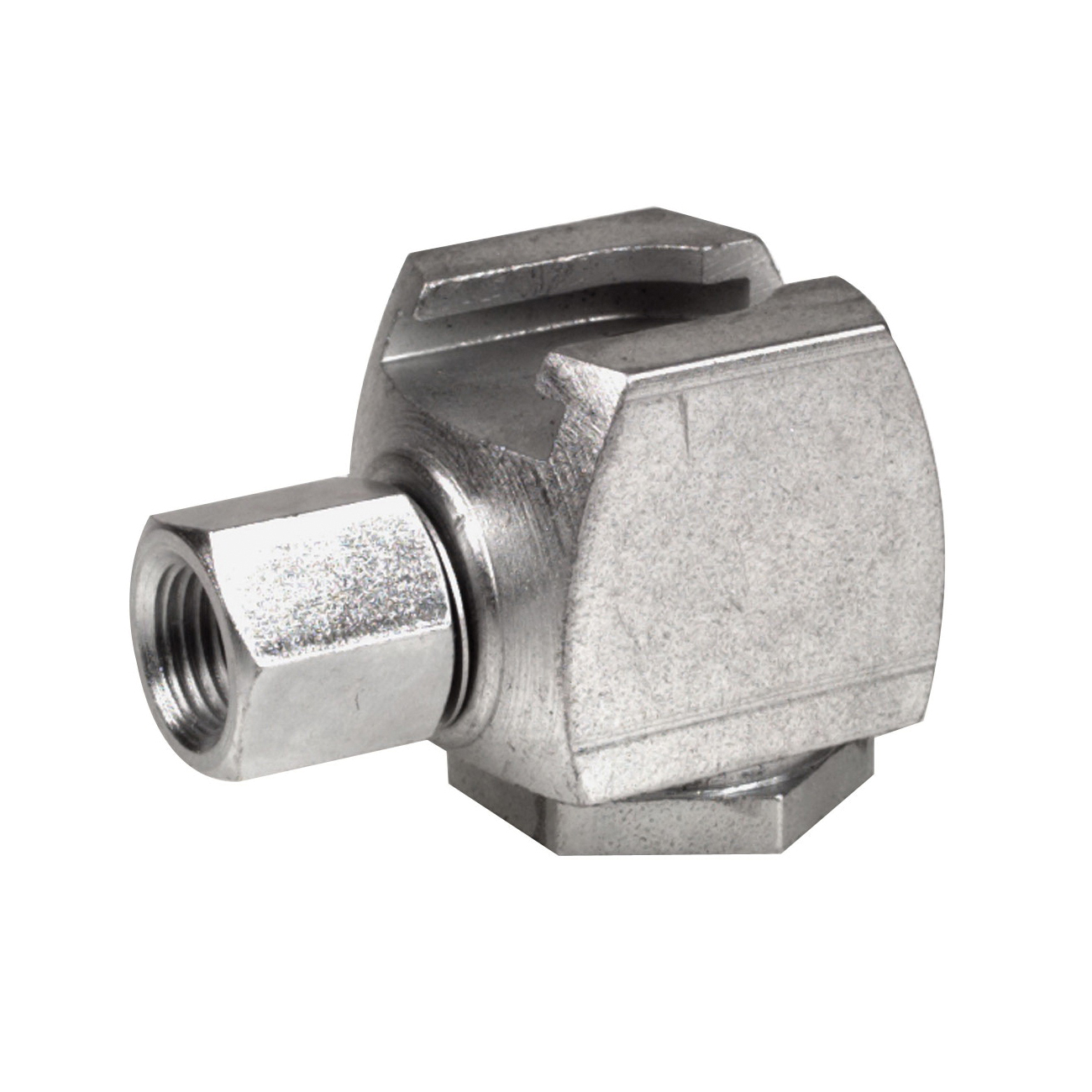 Alemite® 42030-A Standard Pull-On Button Head Coupler, 1/8 in Dia, FNPT