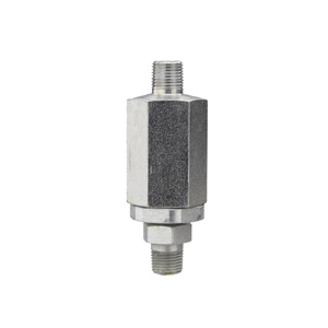 Alemite® 54730 High Pressure Straight Swivel, For Use With Grease Hose Reels, 1/8 in NPTF, 10000 psi